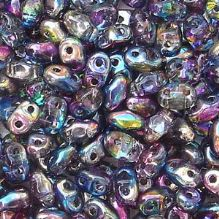 Miniduo Beads Magic Blue Pink - 5 grams